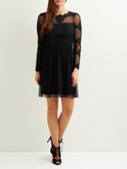 VIGEORGIOUS L/S DRESS/DC