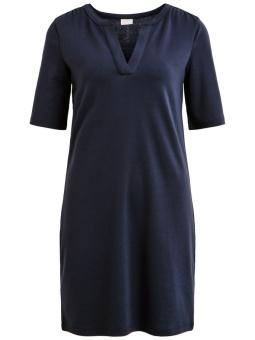 VITINNY 2/4 SLEEVE V-NECK DRESS