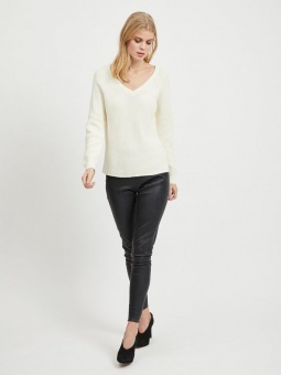 VIMYNTANI KNIT POINTELLE L/S TOP