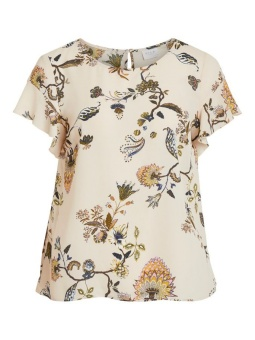 VILUCY S/S FLOUNCE TOP - FAV LUX