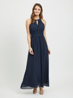 VIMILINA HALTERNECK MAXI DRESS - NOOS