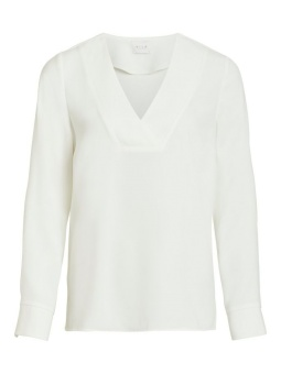 VILAIA L/S V-NECK TOP - NOOS
