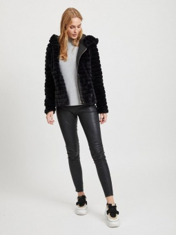 VIMAYA FAUX FUR JACKET/2