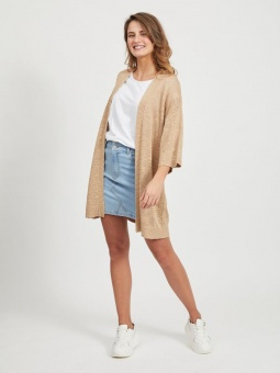 VIPOCA KNIT 3/4 SLEEVE CARDIGAN