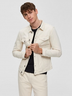SLHJEPPE 6117 CREAM DENIM JACKET W