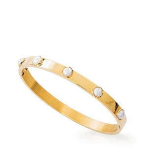Fiona pearl bangle