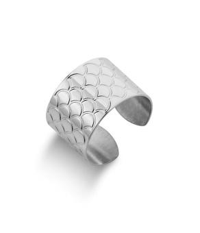 Bolivia Snake ring, plain silver