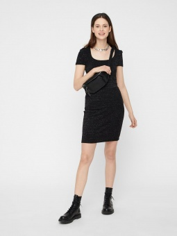 PCIDA SS O-NECK DRESS