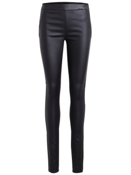 OBJBELLE COATED LEGGINGS NOOS