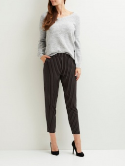 OBJCECILIE MW STRIPED 7/8 PANT A