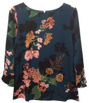 10 Jolie print blouse