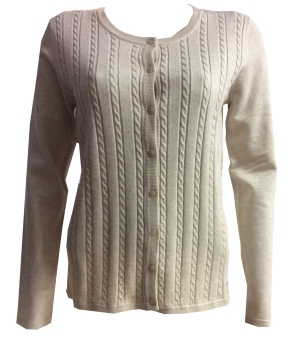 B INES CABLE CARDIGAN