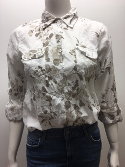 B CLEO FLOWER BLOUSE