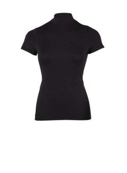 TURTLENECK TOP W SHORT SL