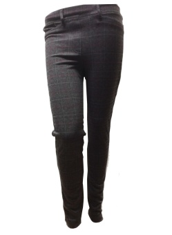 B Joline check leggings