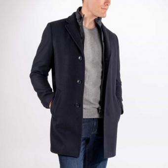 Wool Coat Navy