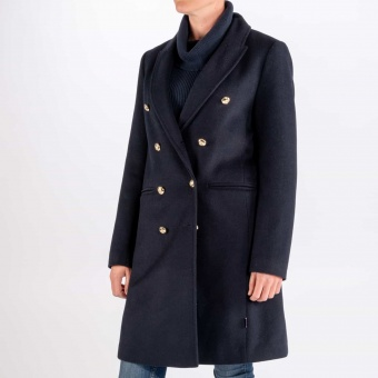Nautical Wool Coat