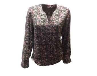 B Cleo flower blouse
