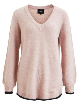 OBJNOMI EVELYN L/S KNIT TUNIC PB4