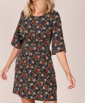 Miss P printed stretch dress