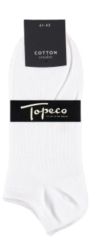 TOPECO SNEAKER SOLID COTTON
