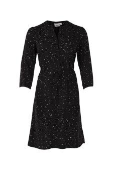 DOT PRINT 3/4 SL.DRESS