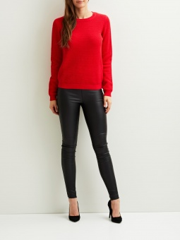 VICHASSA L/S KNIT TOP-FAV