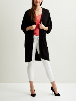 VILESLY 3/4 SLEEVE KNIT CARDIGAN