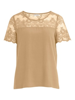 VIMERO LACE  S/S TOP/SU - FAV