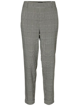 VMMAYA MR LOOSE PRISTINE BLCK CHECK PANT