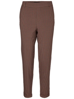 VMMAYA MR LOOSE SMALL CHECK PANT