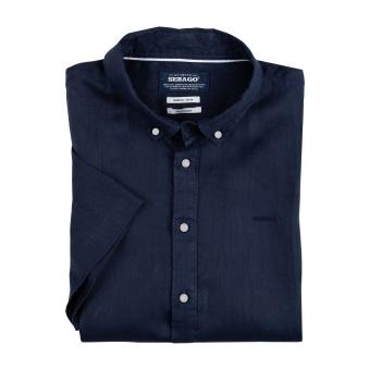 Aiden Linen Shirt S.S B.D