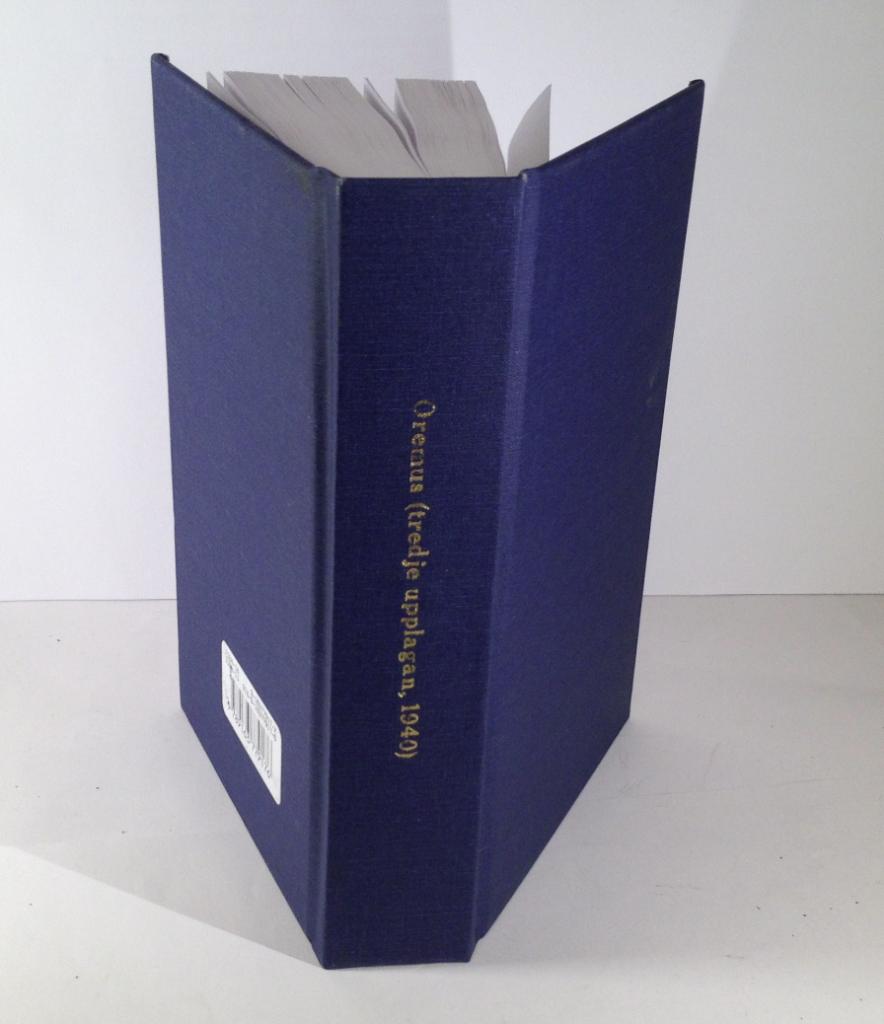 Oremus, 3:e upplagan, 1940