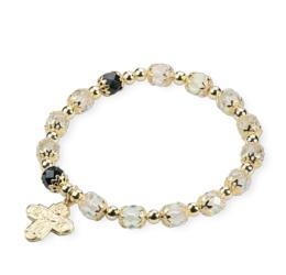 "Armband à la ""Böhmisk kristall"""