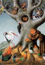 Franciskus predikar för fåglarna