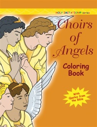 Choirs of Angels - coloring book