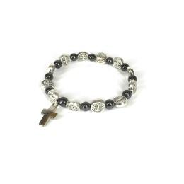 Benedictus-armband, hematit