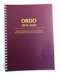 Ordo 2018-2019