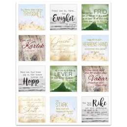 Klistermärken - Bibelord