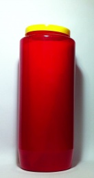 S.k. evighetsljus, rött, 7-dagars