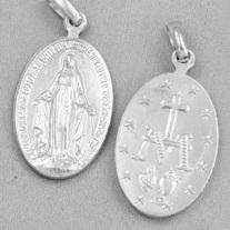 Mirakulösa Medaljen - silver, 10mm