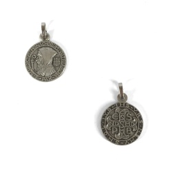 Benedictus-medalj, 16mm, Solesmes