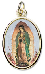 Vår Fru av Guadalupe, färg