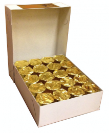 """Rökelsekol """"XL"""", 50mm, paket, 20 rullar à 5 brickor"""