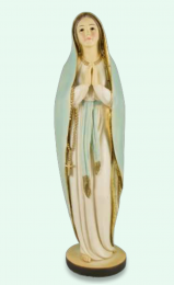 Madonna, bedjande m rosenkrans (20 cm)