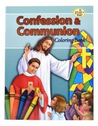 Confession & Communion - COLORING BOOK