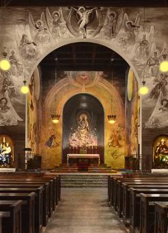 Kristus Konungen 1951 (färg, A5)
