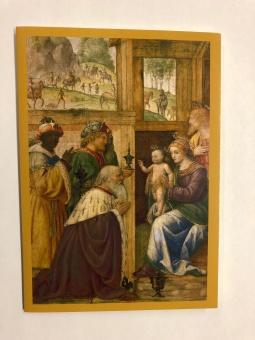 Vise männens tillbedjan (Luini, 1500-t)