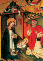 Jesu födelse (Dominikanskt altarskåp)
