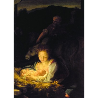 Den heliga natten (Correggio, ca 1522)